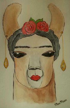 Llama Kahlo