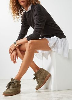 Isabel Marant Bobby wedged sneaker