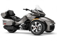 SPYDERCan-Am  Bombardier Can-Am Spyder F3 Limited SE6 Pure Magnesium Metallic '17