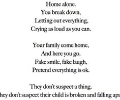 Home Alone #depressed cuts so deep