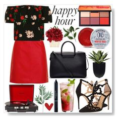 """""""#276"""" by bulls-fan ❤ liked on Polyvore featuring Marchesa, Topshop, The Row, Dolce&Gabbana, NARS Cosmetics, Rosebud Perfume Co., Crosley and Christian Dior"""