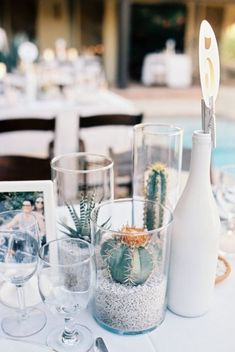 Palm Springs Wedding from Bwright Photography Gallery - Style Me Pretty Bridal Shower Decorations, Wedding Centerpieces, Wedding Decorations, Graduation Centerpiece, Wedding Ideas, Wedding Inspiration, Cactus Wedding, Floral Wedding, Wedding Flowers