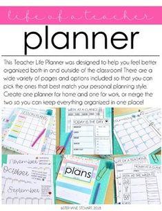 TEACHER PLANNER | TE