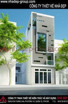 Nhà phố 4,5x20 - 2