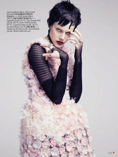 ❦ Ehren Dorsey by Emre Unal for Vogue Turkey May 2013