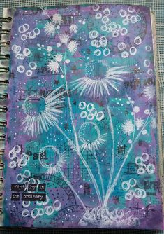 When I saw Dounia 's lovely white stamping on the Paper Artsy blog it set me off on a little bit of a play! I had a background in my jo...