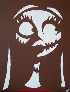 Sally Nightmare Before Christmas pumpkin carving stensil Jack Skellington Kürbis, Jack Skellington Pumpkin Carving, Pumkin Carving, Carving Pumpkins, Pumpkin Template, Pumpkin Carving Templates, Sally Nightmare Before Christmas, Holidays Halloween, Halloween Fun
