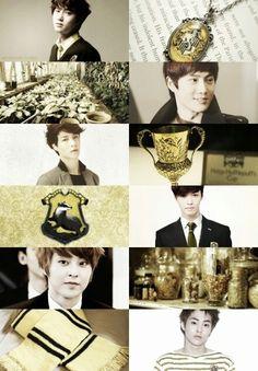 Movie/book edit - Harry Potter (Huffelpuff) - EXO/Suho-Lay-Xiumin