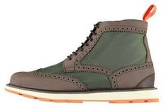 Swims Charles High Top II  And  Nylon Brogue Boots on shopstyle.co.uk