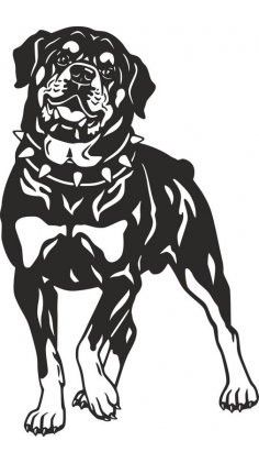 Animal Drawings, Art Drawings, Rottweiler Breed, Cd R, Dog Silhouette, Dog Art, Vector Art, Vector File, Dog Pictures