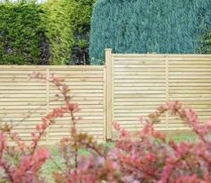 Grange Contemporary Vogue 4ft High Fence Panels 3 Pack
