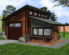 Modern Garage With Apartment Above two car garage with a above apartment | car garage loft plan, 028g