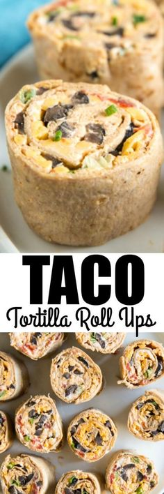 Taco Tortilla Roll U