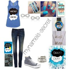 """The Fault In Our Stars"" by mynameis-secret on Polyvore #watch #watches"