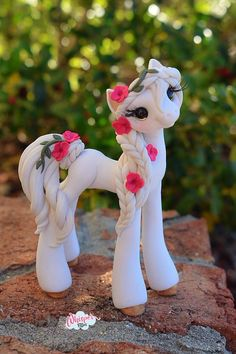 Your place to buy and sell all things handmade Cute Polymer Clay, Polymer Clay Animals, Cute Clay, Polymer Clay Creations, Polymer Clay Crafts, Diy Clay, Diy Ooak Doll, Greek Goddess Art, Cute Fantasy Creatures