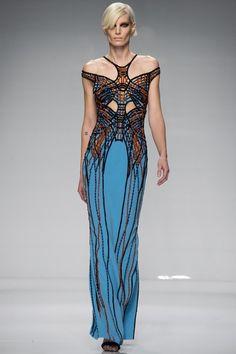 Versace Couture Spring 2016 Model: Iris Strubegger