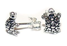 Kids Jewelry, Affordable Jewelry, The Ordinary, Turtle, Stud Earrings, Sterling Silver, Gifts, Free, Beautiful
