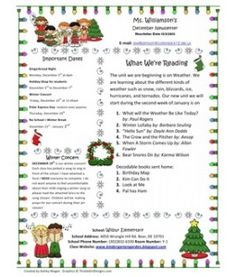 Download free one and two page newsletter template for microsoft holidaychristmas newsletter 2012 spiritdancerdesigns Image collections