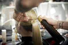 Paris Fashion Week F/W2014-15 Show: KENZO ... | L'Oréal Professionnel #PFW #lpbackstage #kenzo Kenzo, Fashion Week, Paris Fashion, L'oréal Professionnel, Bobby Pins, Hair Accessories, Hair Styles, Beauty, Hair Plait Styles