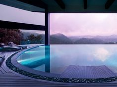 Purple dusk. At Vivanta by Taj, Madikeri, India. By Hotelied.