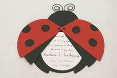 Image result for ladybird birthday invites