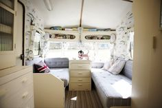 a really cute travel trailer remodel