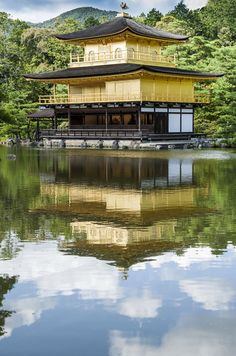 KinkakuJi Kyoto Japan Cursos de idiomas en el exterior CAUX InterCultural - Estudia Japones en japón. Desde 2 hasta 52 semanas. Más información escribenos a intercultural@cauxig.com