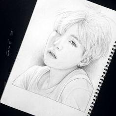 Min yoongi drawing