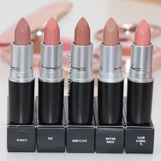 These 32 Gorgeous Mac Lipsticks Are Awesome Blankety Hue Honeylove Ruffi Orie. - These 32 Gorgeous Mac Lipsticks Are Awesome Blankety Hue Honeylove Ruffi Oriel D. Make Up Kits, Beauty Make-up, Beauty Hacks, Beauty Tips, Mac Lipsticks, Mac Lipstick Swatches, Eyeliner, Mascara, Love Makeup