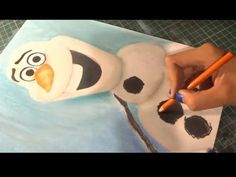 Speed Drawing: Olaf (Frozen) by Diana Díaz