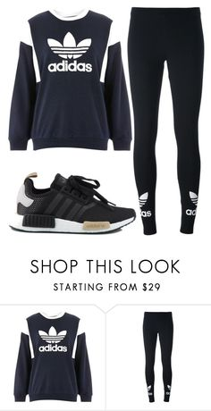 """""""Untitled #1487"""" by aaisha123 ❤ liked on Polyvore featuring Topshop, adidas Originals and adidas"""