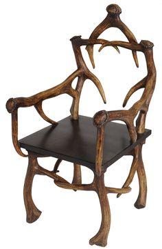 Hunters Wild Antler Effect Chair #design #interior
