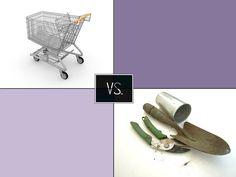 Kupované nebo vypěstované ovoce a zelenina? | Poznej rozdíl Food And Drink, Drinks, Drinking, Beverages, Drink, Beverage