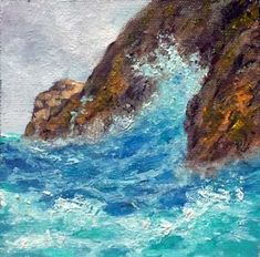 Donald Neff - Baja Colors, 6x6, oil on panel, $160