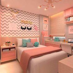 best teen girl bedroom decor ideas 31 – Home Decor Cute Bedroom Ideas, Room Ideas Bedroom, Teen Bedroom, Modern Bedroom, Bedroom Decor, Contemporary Bedroom, Bed Room, Bedroom Plants, Bedroom Storage