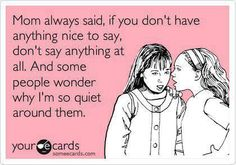 #TRUESTORY of why I'm so quiet...