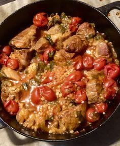Possua ja ohraa uunissa Salvia, Paella, Ethnic Recipes, Food, Sage, Essen, Meals, Yemek, Eten