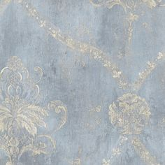 "Norwall Wallcoverings Inc Grand Chateau 32.7' x 20.5"" Regal Damask Wallpaper…"