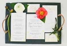 Great Urban Meadow design for your Wedding Invitations