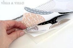 Villa ja Villa: DIY meikkipussi tai pussukka (versio 2)