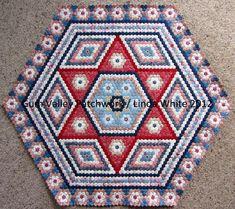 New Hexagon Quilt 21 June 2012