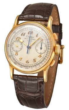 Vintage Patek Philippe Signed by Cartier - Chronograph Ref.130