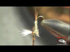 Parachute Adams Fly Tying Video | How To Tie Parachute Adams Fly | Parachute Adams Instructions - YouTube
