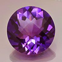 """AMETHYST is the birthstone for the month of February. The name amethyst is from the Greek """"amethystos"""" meaning """" not drunken"""" because the ancient Greeks believed drinking from an amethyst cup would prevent intoxication."""