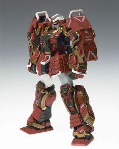'Toy' from the 'Gundam Fix Figuration' line. Designs reimaged by Hajime Katoki.
