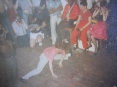 John Neilson...Dance Competition Wigan Casino last night.
