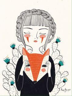 Mujer zorra de María Hesse