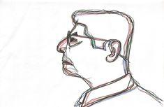 """Processo de criação do cartaz do curta-metragem """"Milton Freire, um grito além da história"""". Design de Moisés Mendoza Baião. Mendoza, Design, Shortfilm, Poster"""