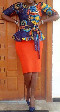 Hello Ladies, we have waited long for these amazing plain and patterned ankara styles. Plain and Patterned ankara styles are designed uniquely and flawlessly. African Dresses For Women, African Print Dresses, African Attire, African Fashion Dresses, African Wear, African Women, African Prints, African Style, African Outfits