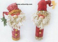 Manualidades navideñas con material reciclado ~ Solountip.com